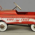 BMC Fire Chief Pedal Car