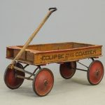 1910-20's Eclipe Coaster Pull Wagon