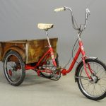1960's Columbia Folding Frame Cargo Bicycle