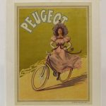 "Bicycle poster ""PEUGEOT"""