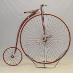 "C. 1880's 46"" High Wheel Bicycle"