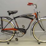 C. 1950's Schwinn Black Phantom Bicycle