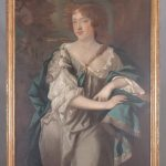 19th c. Continental portrait of a woman
