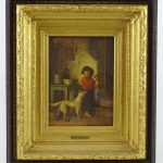 Platt Powell Ryder (New York, 1821-1896), interior scene