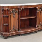 19th c. Marble Top Server