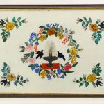 19th c. Tinsel Painting