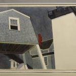 "David Dewey (b. 1946), ""Hendricks Head Light"", watercolor"