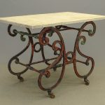 19th c. French Marble Top Table