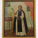 Peruvian School, early portrait of St. Martin De Porres