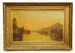 Nelson Augustus Moore (Ct. 1842-1902), Landscape Painting