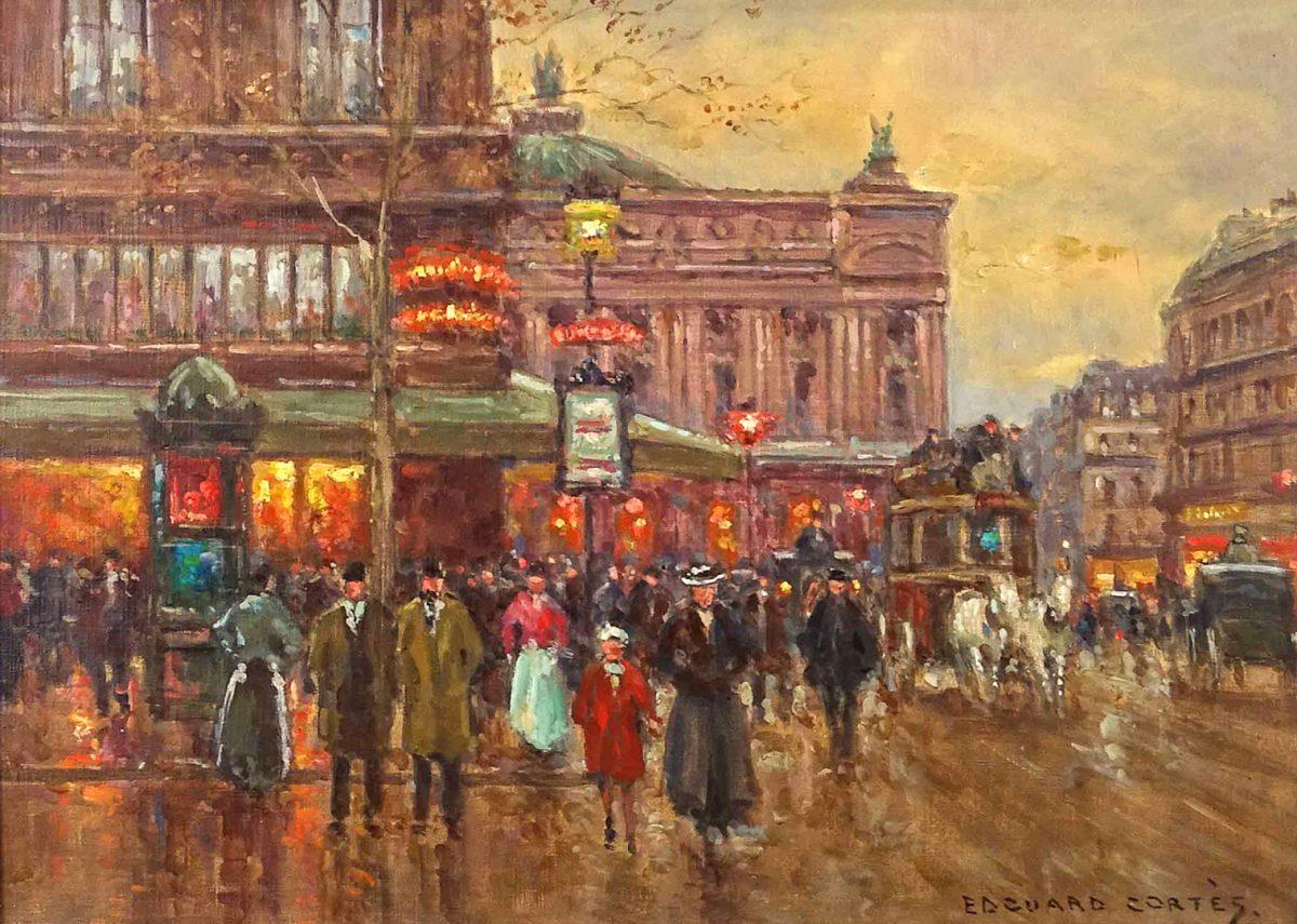 Edouard Léon Cortès (1882-1969)