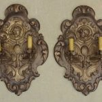 Pair Spanish Wall Sconces