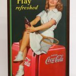 Vintage Coca Cola Advertising Poster