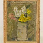 Byron (George Byron) Browne (1907-1961), vase with flowers, oil on board