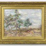 George Gardner Symons (1863-1930), landscape, oil on artist board