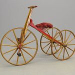 Early Child's Velocipede Tricycle