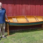 New World Canoe handcrafted by Michael Lazor