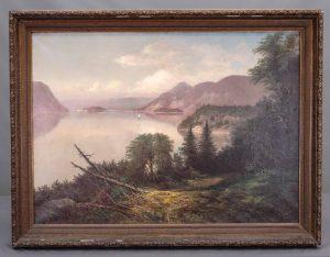 19th c. Hudson River School, Landscape Painting