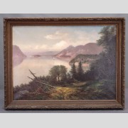 19th c. Hudson River School, Landscape Painting
