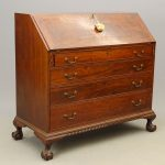 "18th c. Stamped ""N. Timpson N-YORK"" Desk"