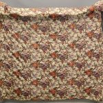 Pair of 19th c. Hudson Valley Patch Quilts. Rare Chintz Backing