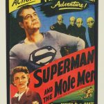 Superman Art Lithograph display