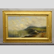Kanute Edwin Felix (1852-1935), Seascape Painting