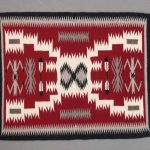 Navajo Crystal Rug, Storm Pattern