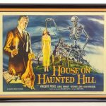 "1958 Poster ""House On Haunted Hill"""