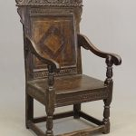 (2) Early Jacobean Carved Armchairs