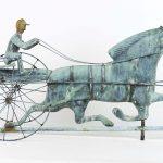 Horse & Sulky Weathervane