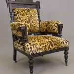 Victorian Aesthetic Movement Parlor Chair