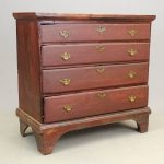18th c. Chest Of Drawers