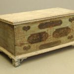 18th c. Shenandoah Valley Blanket Box
