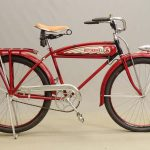 C. 1937 Excelsior Schwinn Balloon Tire Bicycle