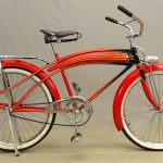 "C. 1937 Dayton Huffman ""Super Streamliner"" Bicycle"