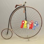 C. 1880's Columbia Expert High Wheel Bicycle