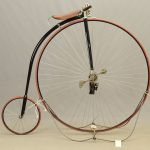"C. 1889-1890 Rival 52"" High Wheel Bicycle"