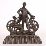 Cast Iron Safety Rider Doorstop