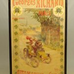 Early Automobiles & Cycles Poster