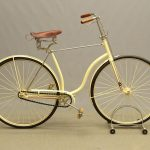 C. 1880's Hard Tire safety bicycle