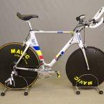 Vintage Original Once Team Look bicycle. Alex Zulle KG196TT prototype