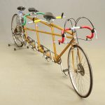C. 1980's Soens triplet bicycle. Built in Britain upon design of Bill Whitcomb