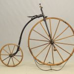 C. 1880's Otto Style Youth High Wheel Bicycle