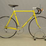 "Albert Eisentraut men's 23"" bicycle. Framed marked Eisentraut / Oakland. 10 speed"