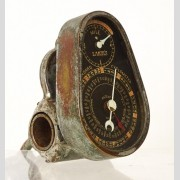 "Rare 54"" Lakin's High Wheel Cyclometer"