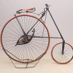 C. 1885 Pony Star High Wheel Bicycle