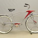"C. 1960's Sears Spaceliner 26"" bicycle"
