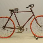 C. 1890-1900 Iver Johnson pneumatic safety bicycle