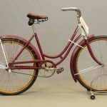 C. 1920's Iver Johnson female bicycle